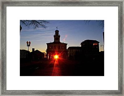 Historic 2 Framed Print