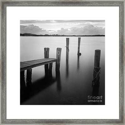 Sunrise At Tuncurry New South Wales Framed Print by Colin and Linda McKie