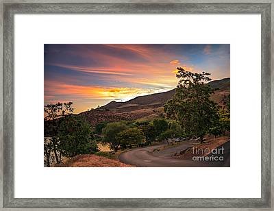 Sunrise At Woodhead Park Framed Print by Robert Bales