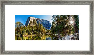 Sunrise At Yosemite Framed Print