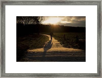 Sunrise Atmosphere Framed Print