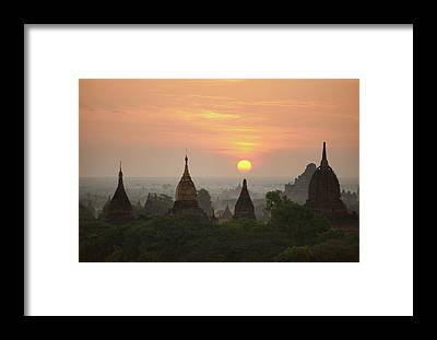 Burma Framed Prints