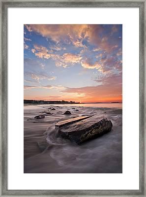 Sunrise Bayswater Beach Framed Print by Trevor Awalt