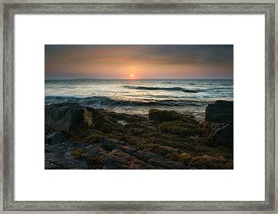 Sunrise By Giant Steps Framed Print by Darylann Leonard Photography