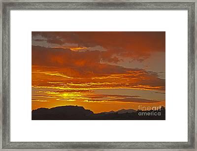 Sunrise Capitol Reef National Park Framed Print