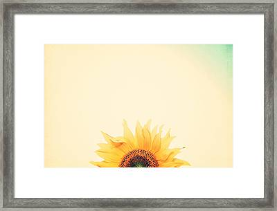 Sunrise Framed Print by Carrie Ann Grippo-Pike