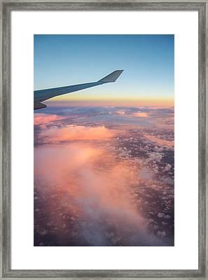 Sunrise Clouds Framed Print by Parker Cunningham