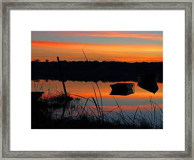 Framed Print featuring the photograph Sunrise Cove  by Dianne Cowen
