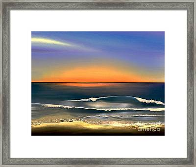 Sunrise Framed Print by Dale   Ford
