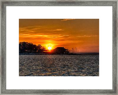 Sunrise Framed Print