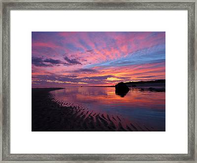 Framed Print featuring the photograph Sunrise Drama by Dianne Cowen