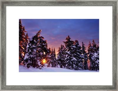 Sunrise Dreams Framed Print by Darren  White