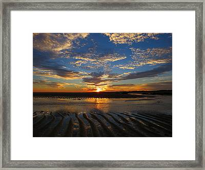 Framed Print featuring the photograph Sunrise Glory by Dianne Cowen