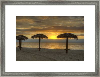 Sunrise Glory Framed Print