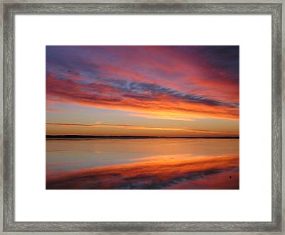 sunrise Glow Framed Print