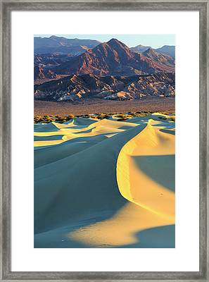 Sunrise Highlights The Texture Framed Print by James White