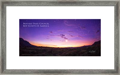 Sunrise Hike Btsr Framed Print