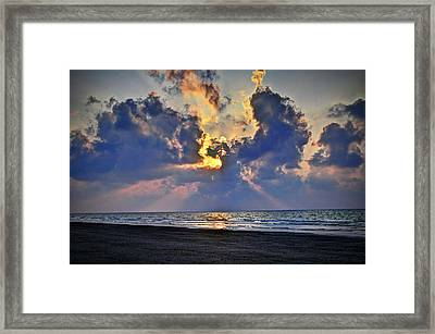 Sunrise... Hilton Head Island Framed Print