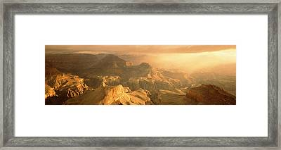 Sunrise Hopi Point Grand Canyon Framed Print by Panoramic Images