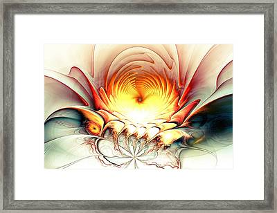Sunrise In Neverland Framed Print by Anastasiya Malakhova