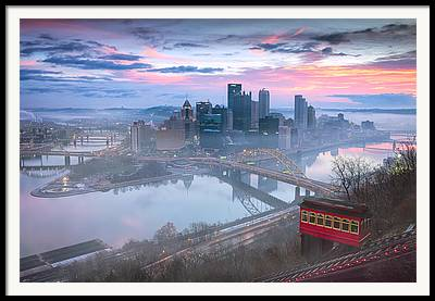Allegheny County Framed Prints