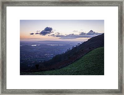 Sunrise In The Severn Valley Framed Print