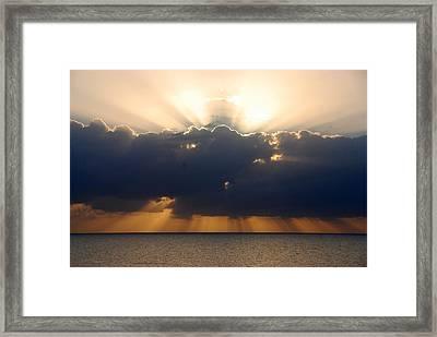 Sunrise Islamorada Framed Print by John Schneider