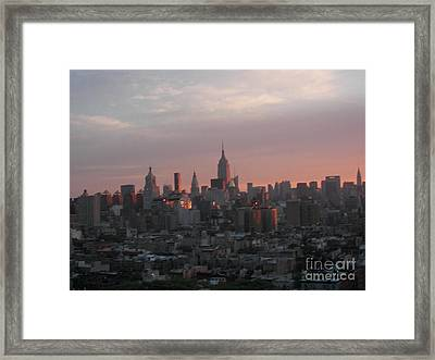 Sunrise Framed Print by James Dolan
