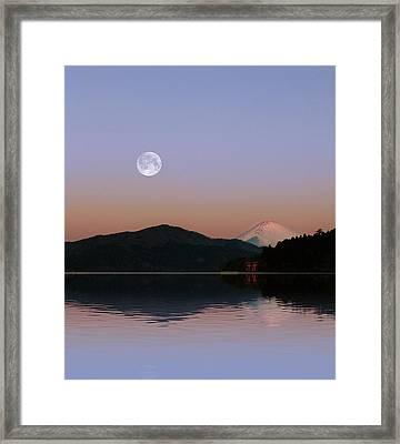 Sunrise Japan  Framed Print by John Swartz