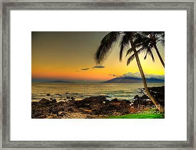 Sunrise Kamaole Framed Print by Kelly Wade