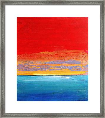 Sunrise 2012 Framed Print