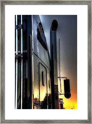 Sunrise K W 34748 Framed Print