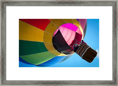Sunrise Launch Framed Print by Patrice Zinck