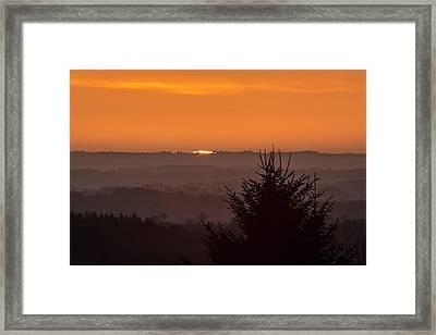 Sunrise Framed Print by Laurent Laveder