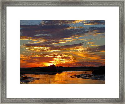 Framed Print featuring the photograph Sunrise Magic by Dianne Cowen