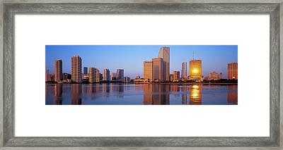 Sunrise, Miami, Florida, Usa Framed Print by Panoramic Images