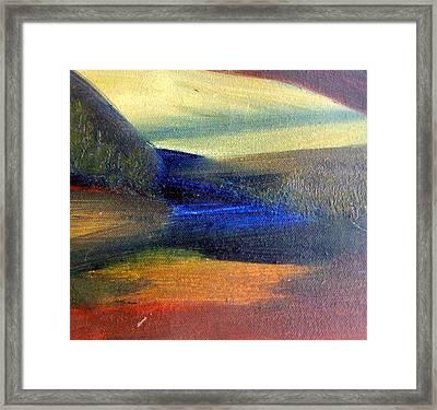 Sunrise  Framed Print by Michaela Kraemer