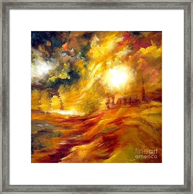 Sunrise Framed Print by Michelle Dommer