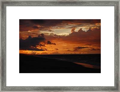 Sunrise  Framed Print by Mim White