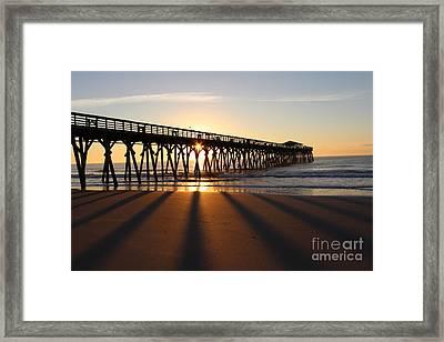 Sunrise Myrtle Beach State Park Framed Print