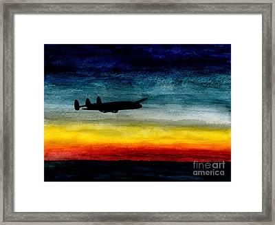 Sunrise Near Iceland Framed Print by R Kyllo