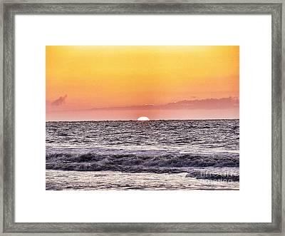 Sunrise Of The Mind Framed Print