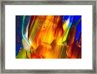 Sunrise Framed Print by Omaste Witkowski