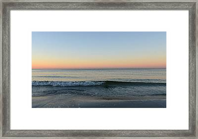 Sunrise On Alys Beach Framed Print