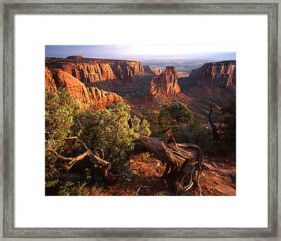 Sunrise On Indepedence Framed Print