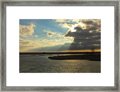 Sunrise On St. Claire Framed Print