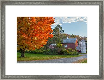 Sunrise On The Farm Framed Print by Bill Wakeley