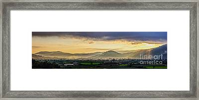 Sunrise On The Mountain Framed Print