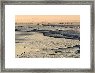 Sunrise On The Ocean Framed Print