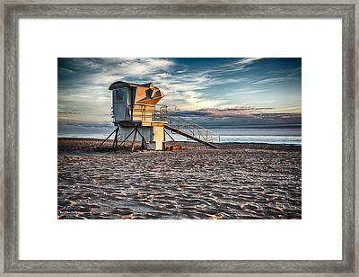 Sunrise On Vero Beach 2 Framed Print by Michael White